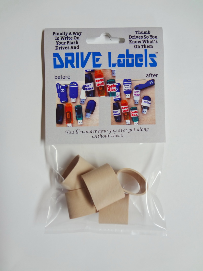 drive labels by braincrate