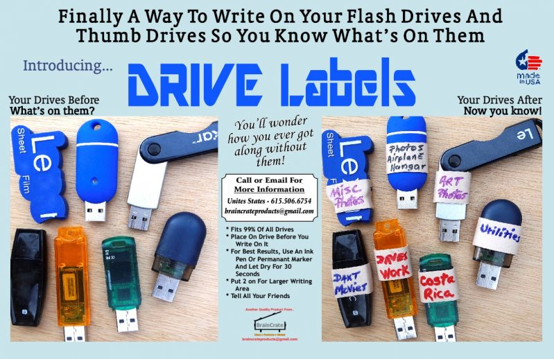 drive label bands by braincrate products