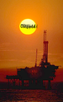 oilfield sunset