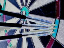 triple dart photo negative