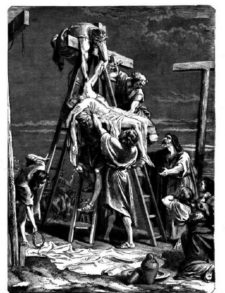 the removal of jesus from the cross